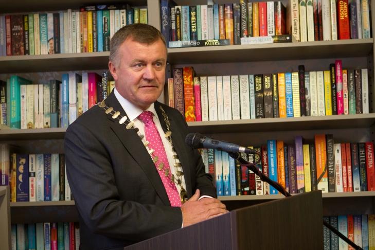 Mayor of Kildare, Clllr Sean Power